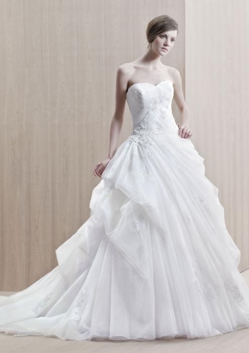 Сонник белое свадебное платье с фатой