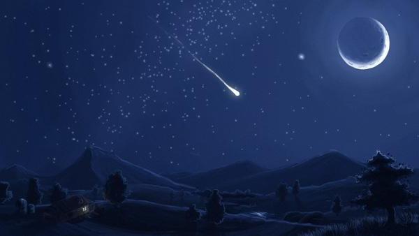 Видеть во сне луну и звезды фото