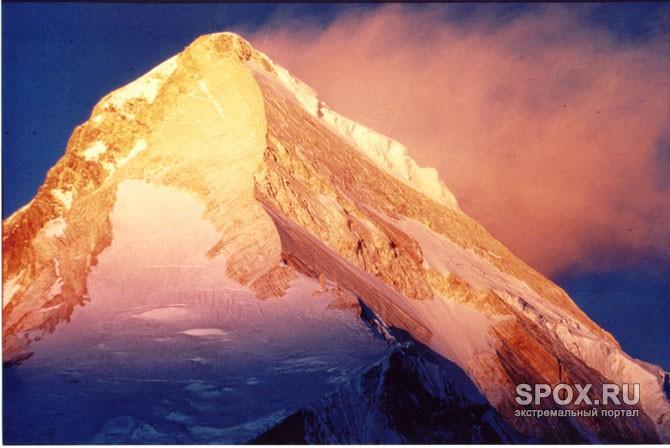 В скалы горы снегу сонник